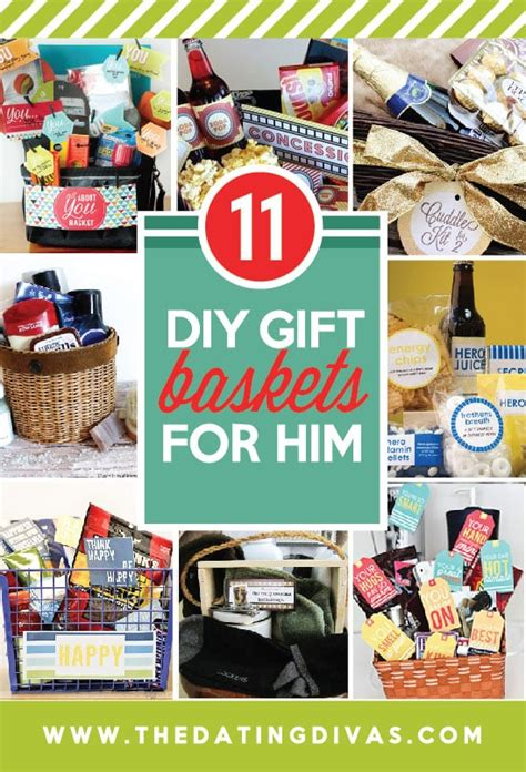 gift basket ideas for him 101 diy gifts for him the dating divas