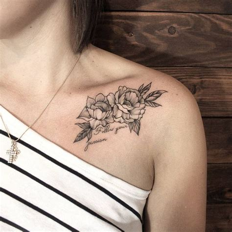 rose collar bone tattoo 17 best ideas about collarbone on