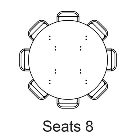 8 foot round seats how many round 60 seats 8 how many people does a 60 round