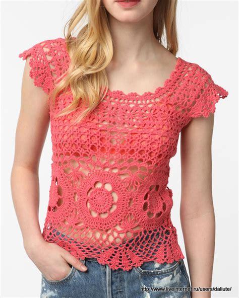 videos de como hacer blusas tejidas a crochet blusas tejidas a crochet con patrones paso a paso