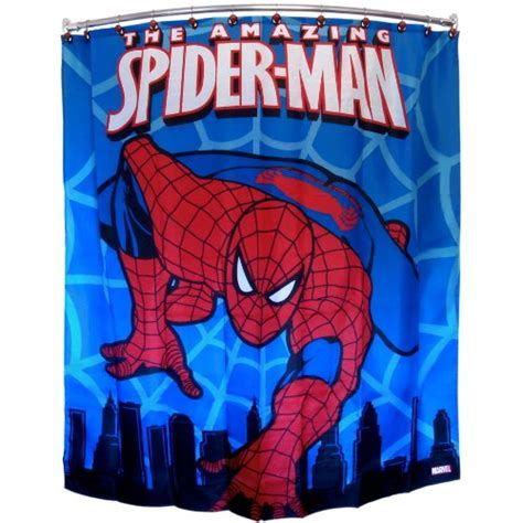 spiderman curtains spider man shower curtains shower curtains outlet