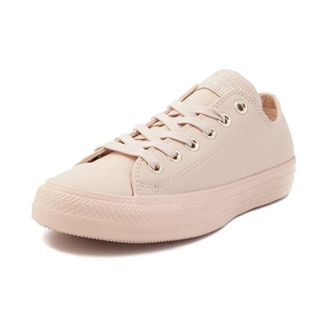leather converse shoes converse chuck all blush lo leather sneaker