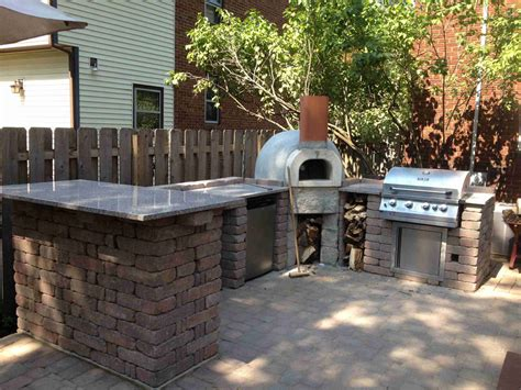 Kitchen Island Centerpiece Outdoor Pizza Oven Pictures