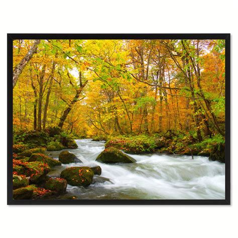 landscape canvas prints autumn yellow landscape photo canvas print pictures