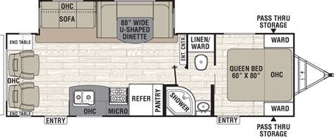 2 bedroom rv floor plans new or used fifth wheel cers for inspirations and two
