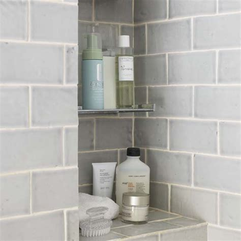 Built In Shelf In Shower by Built In Shower Shelves As The Practical Way Of Storing