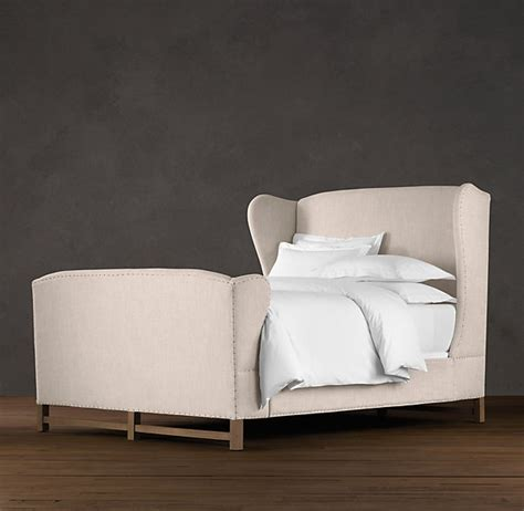 Wingback Bed With Footboard pin by lilia cortes on home