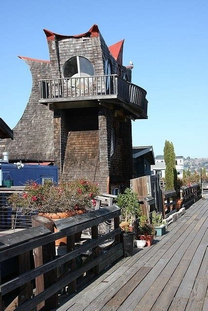 boat house ca a floating home or boathouse located in sausalito