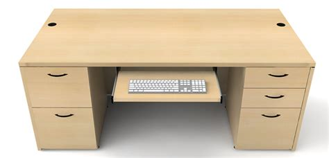 60 x 30 desk 30 x 60 sinlge pedestal deks office furniture by kb