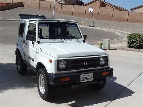 find used 1992 suzuki samurai jl sport utility 2 door 1 3l dont miss this one in rio rancho new