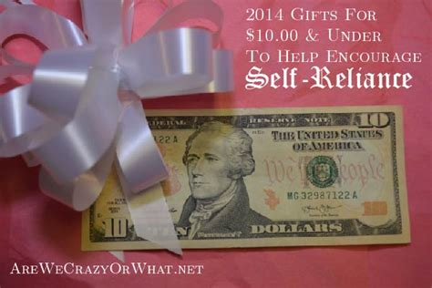 10 00 gifts for 2014 gifts for 10 to help encourage self reliance