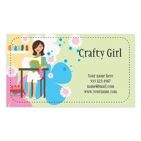 4 000 Craft Business Cards And Craft Business Card Templates Zazzle Craft Business Card Template