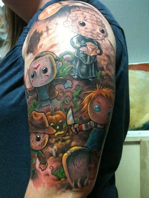 horror movie tattoo 191 best horror tattoos images on horror