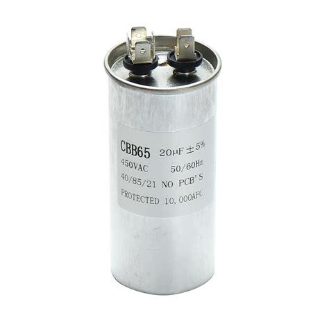 air conditioner capacitor size 15 50uf motor capacitor cbb65 450vac air conditioner compressor start capacitor alex nld