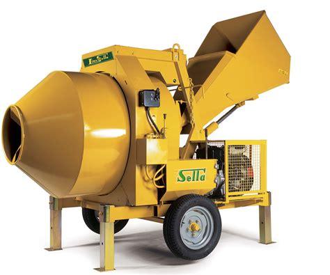 Mixer Roti Portable betoniere profesionale mobile 4 x 4 cu autoincarcare