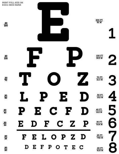 snellen eye exam chart printable snellen eye exam chart car interior design