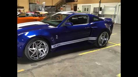 ford mustang widebody shelby gt  sale youtube