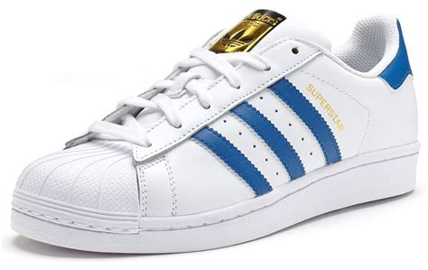 new adidas superstar foundation leather trainers junior boys shoes lace up ebay