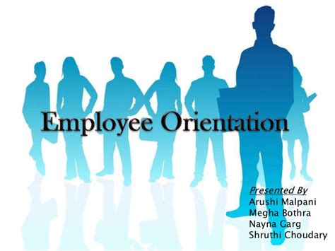 orientation powerpoint template employee orientation ppt