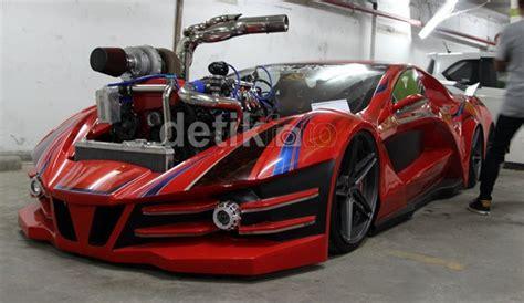 bengkel modifikasi vespa di jogja mobil sport escudo dengan 6 ban