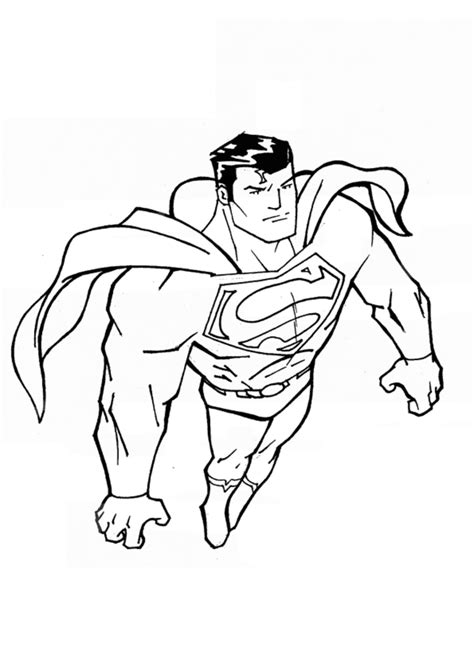 coloring pages of batman and superman free printable superman coloring pages for kids