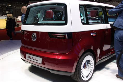 volkswagen bulli volkswagen unveils new vw bulli concept at geneva auto