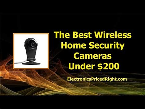 the best wireless home security cameras 200