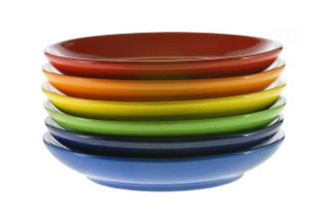 colorful plates does colour make a difference care charts uk