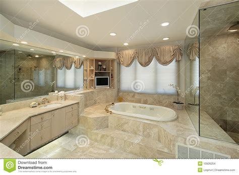 step up bathtub master bath with step up tub stock photo image of