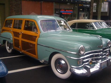 Woody S Dodge Jeep Chrysler 1950 Chrysler Woodie Wagon Machinery