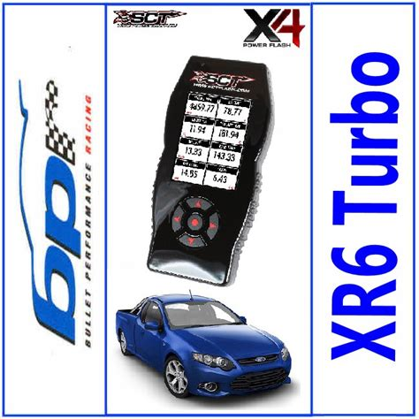 Suits Tuner by Sct X4 Power Flash Tuner Ba Bf Fg Suit Falcon Xr6 Turbo F6