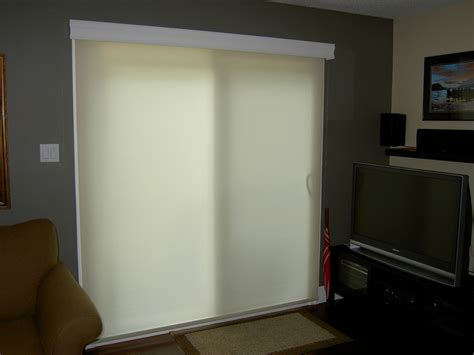 Stylish Window Coverings For Sliding Glass Doors Home Rolling Shades For Sliding Glass Doors