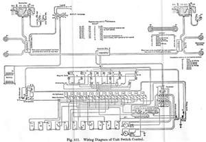 amf control panel circuit diagram control and relay
