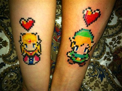 13 cool the legend of zelda tattoos for geeks techeblog