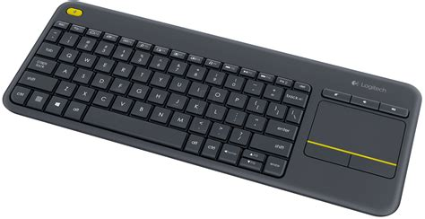 Keyboard Wireless Touchpad logitech k400 wireless keyboard 194 usb 194 black 194