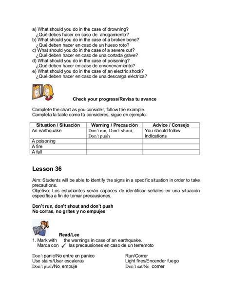 libro de tercer grado de secundaria de ingls de la escuela visente lombardo toledano de la unidad 3 de este ao libro de ingles traducido telesecundaria de tercer grado