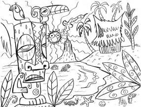 hawaii coloring pages hawaii coloring pages