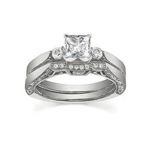 cheap bridal wedding ring sets glorious antique cheap bridal ring set half carat
