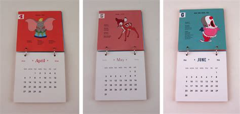 design calendar graphic calendar design disney movies jillian woosley design