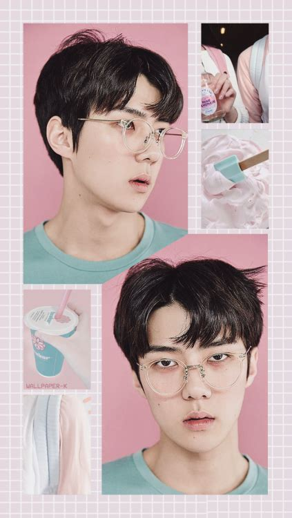 exo aesthetic wallpaper sehun tumblr