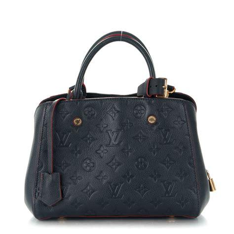 Louis Vuitton Montaigne Bb louis vuitton empreinte montaigne bb marine 172596