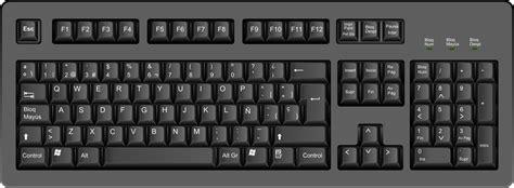 imagenes de un teclado qwerty curso de inform 225 tica b 225 sica