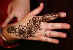 flower henna design for hand henna designs ideas