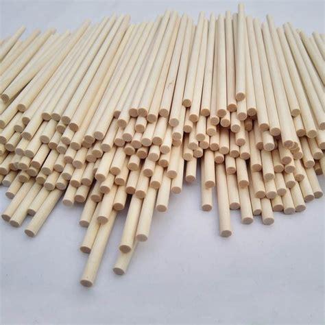 Handmade Stick - 5 12mm wooden rod building model stick small