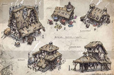 Age Home Design Concepts Shops Houses Gabe Kralik On Artstation At