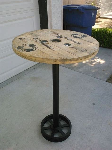 pub table diy pub table bar table recycled home decor