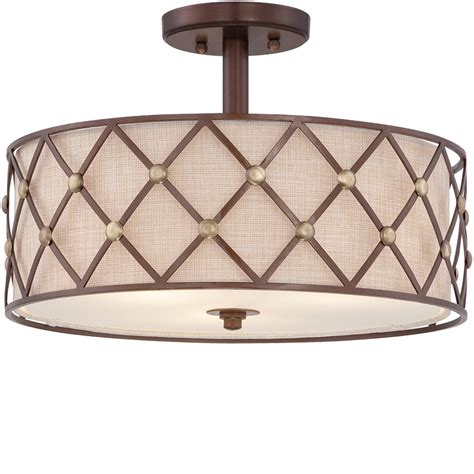 Brown Ceiling Light Shades Brown Ceiling Light Axo Light Clavius Plclaviutaxxe27 Brown Semi Flush Ceiling Light Axo Light