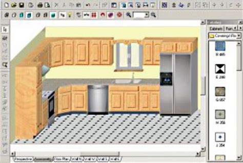 program for kitchen design free cabinet layout software design tools