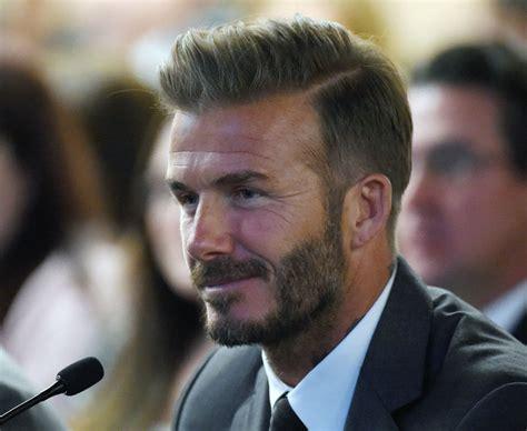 David Beckhams Softer Side by Manchester United Legend David Beckham Picks Five A