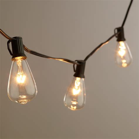 string of light bulbs outdoor inspired by the vintage light bulbs invented by